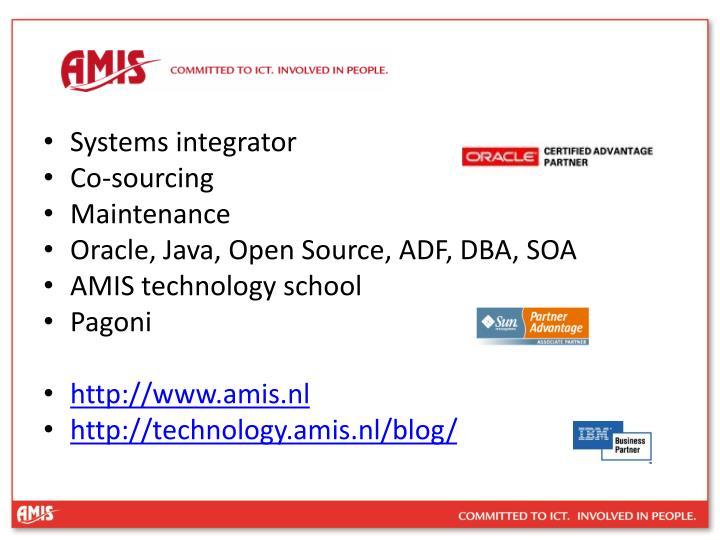 Systems integrator