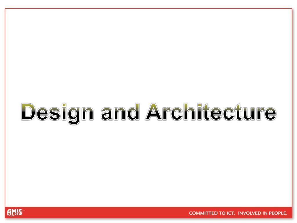Design and Architecture