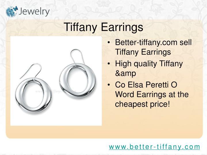 Tiffany earrings3