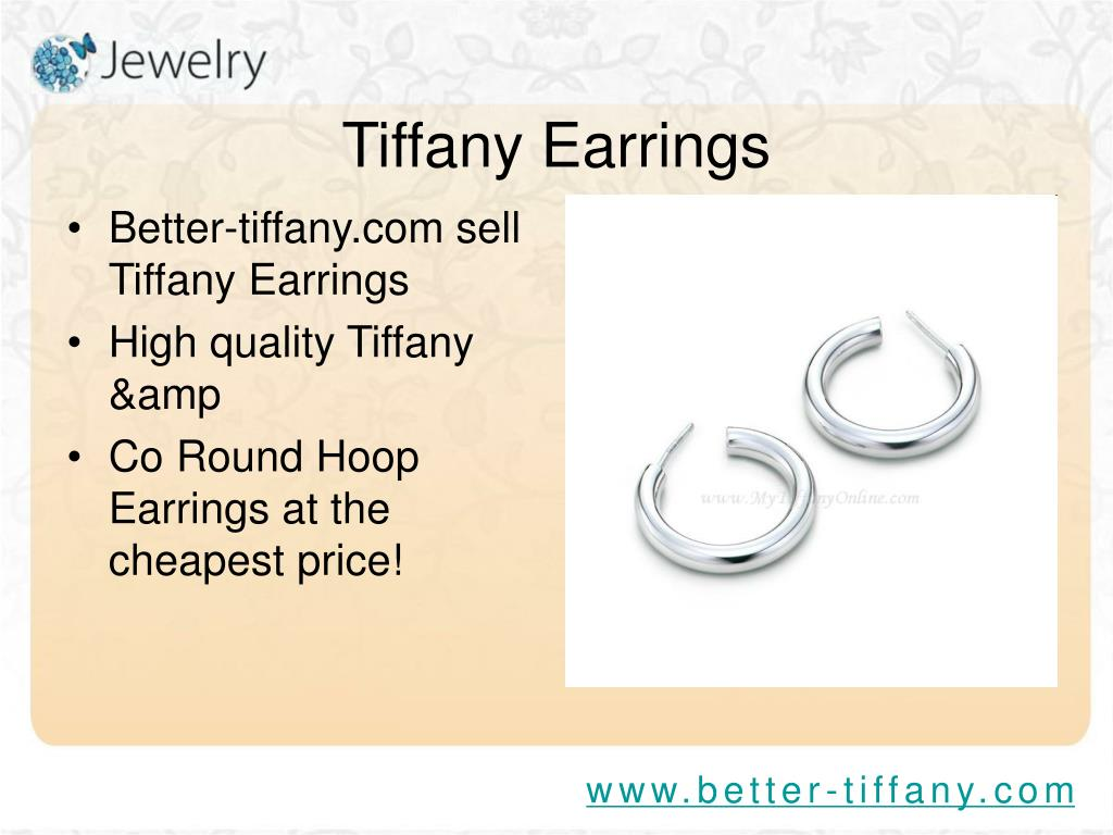 Better-tiffany.com sell Tiffany Earrings