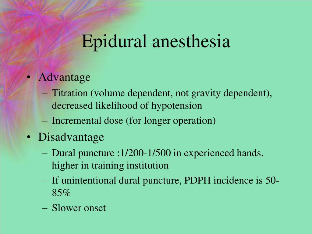 The Provision Of Epidural Analgesia During Labor According To Maternal Birthplace