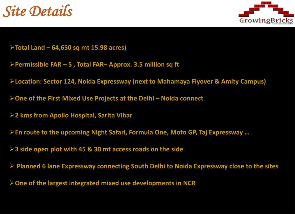 Site Details