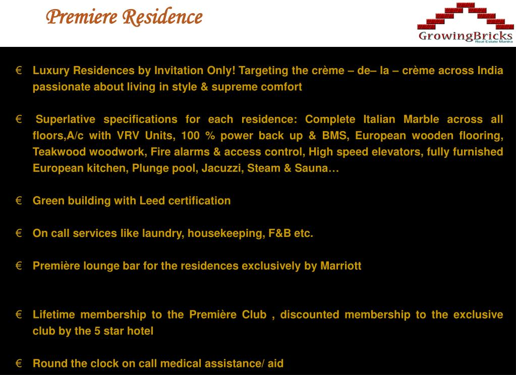 Premiere Residence