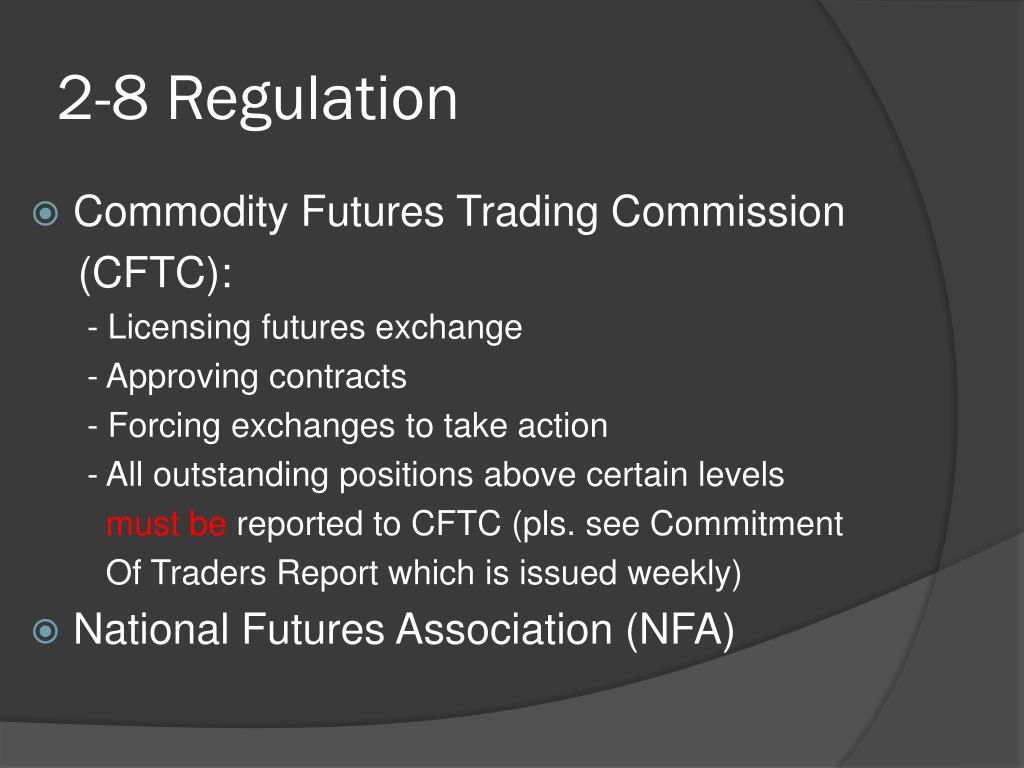 2-8 Regulation