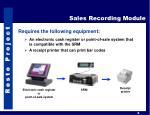 sales recording module1