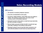 sales recording module2