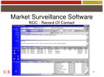 market surveillance software33