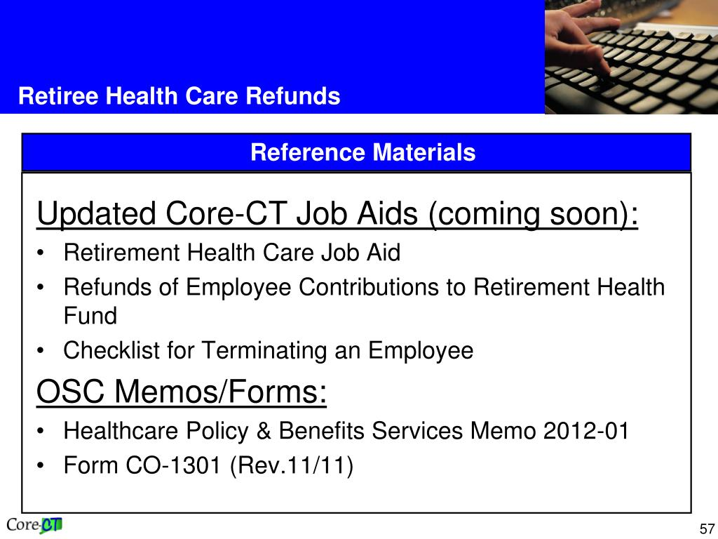 Updated Core-CT Job Aids (coming soon):