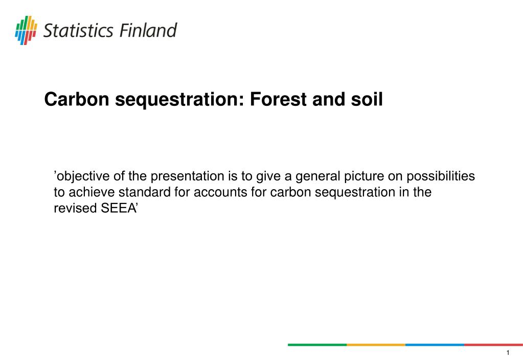 carbon sequestration forest and soil l.