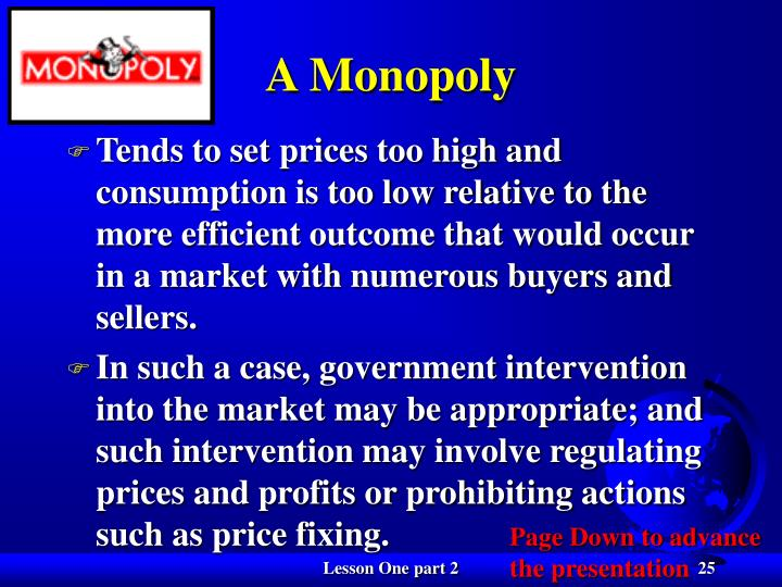 A Monopoly