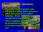 normative questions