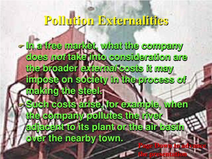 Pollution Externalities