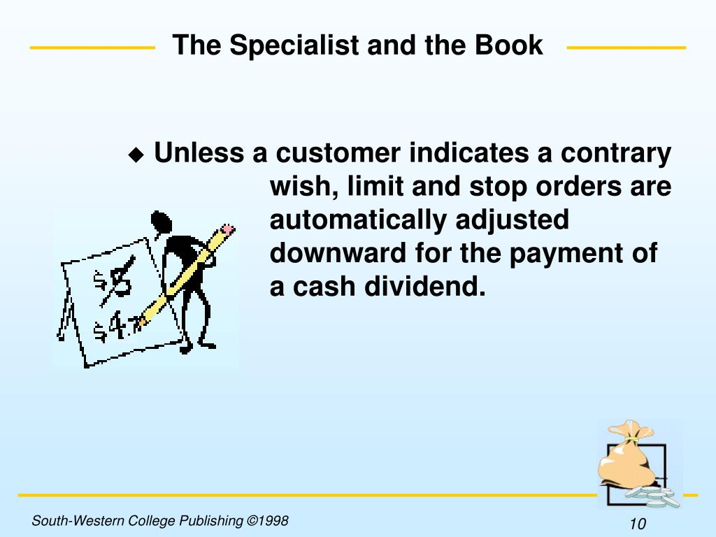 The Specialist and the Book