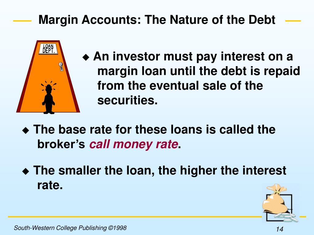 An investor must pay interest on a