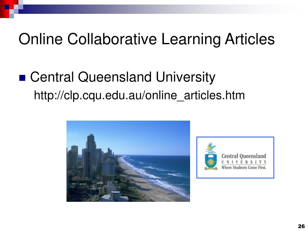 Online Collaborative Learning Articles