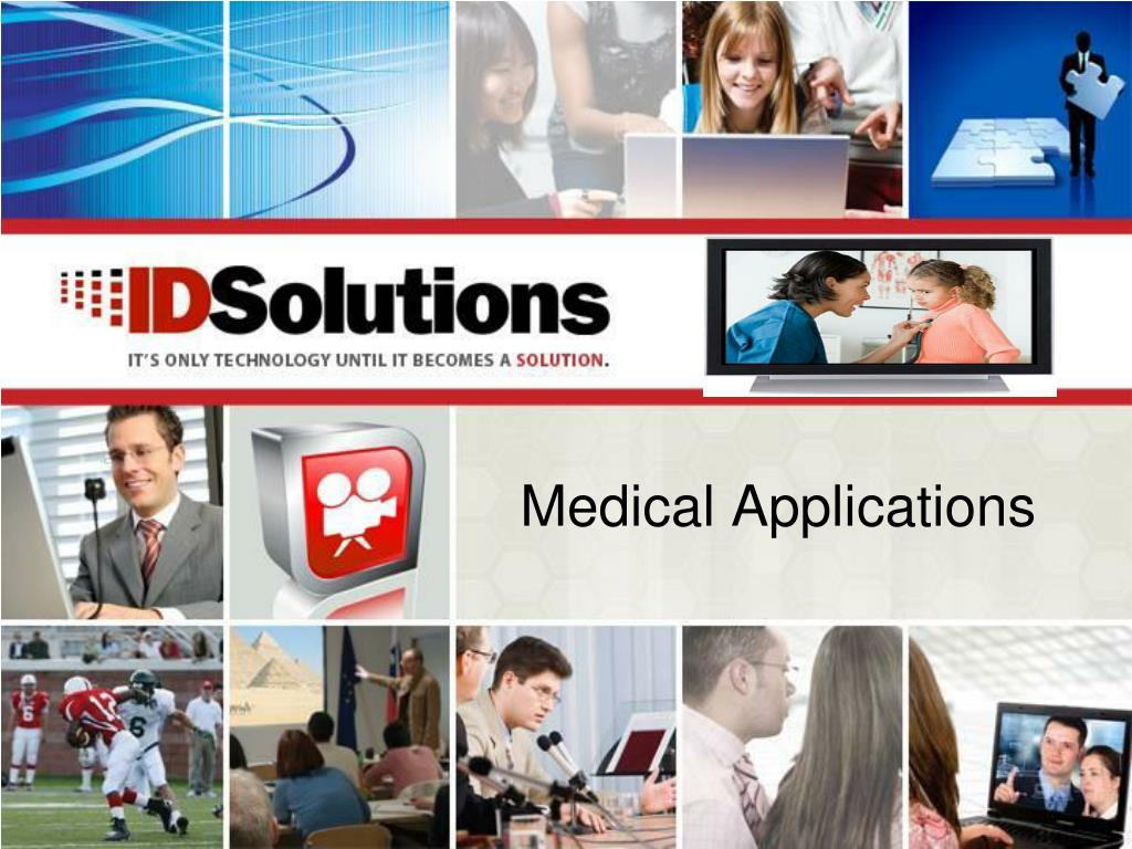 medical applications l.