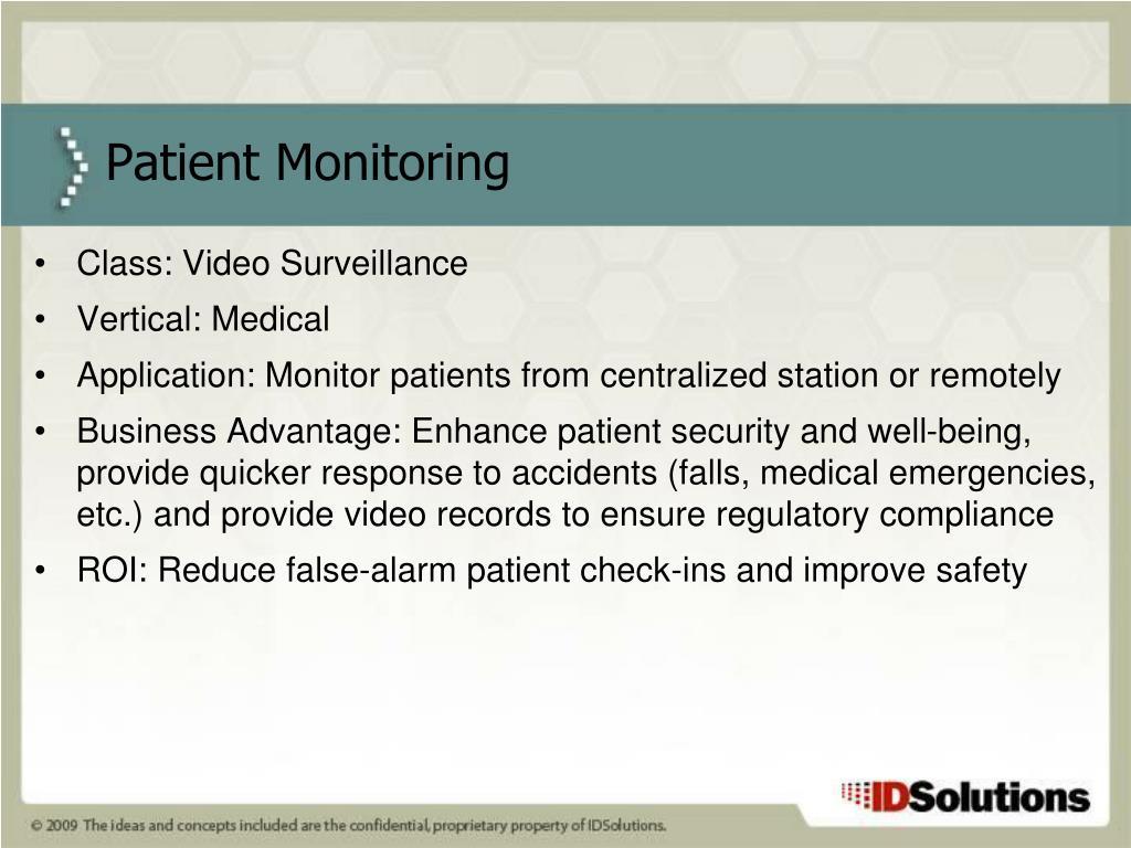 Class: Video Surveillance