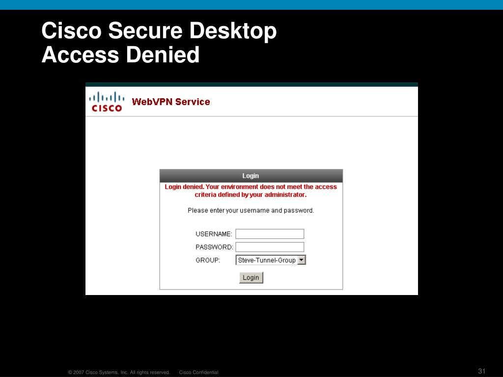 PPT - Cisco Secure Remote Architectures PowerPoint Presentation - ID