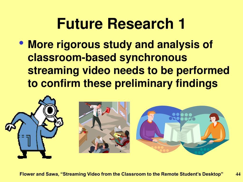 Future Research 1
