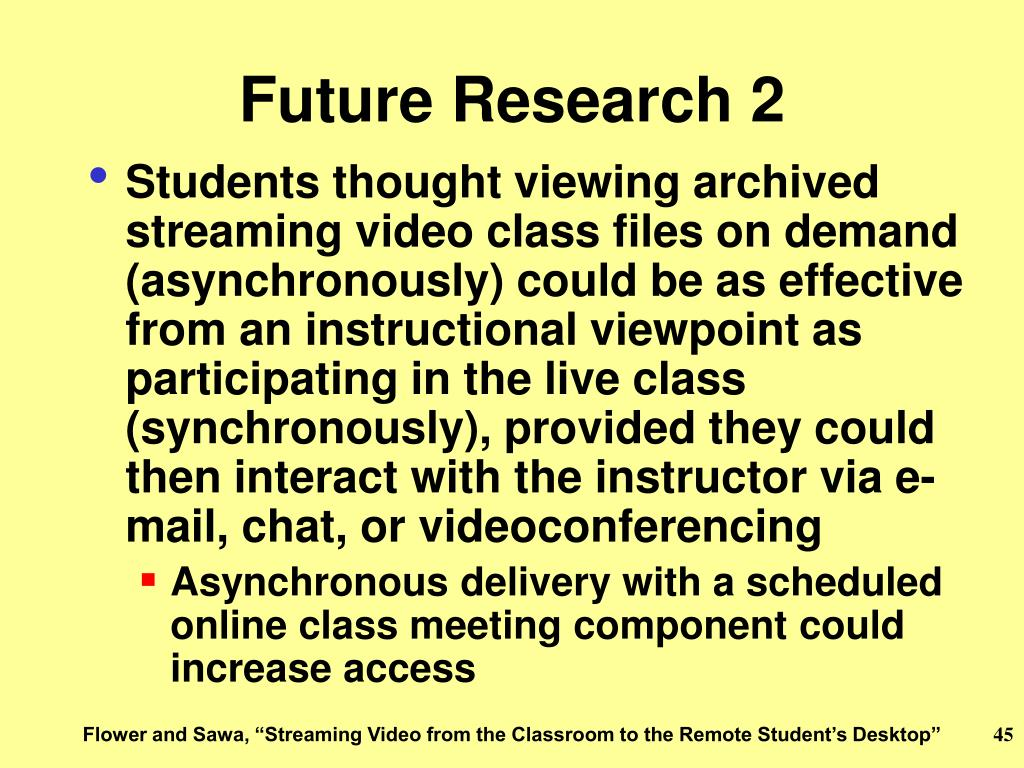 Future Research 2