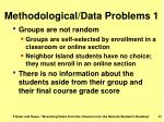 methodological data problems 1