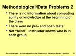 methodological data problems 2