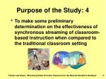 purpose of the study 4