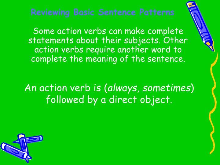 Reviewing basic sentence patterns2
