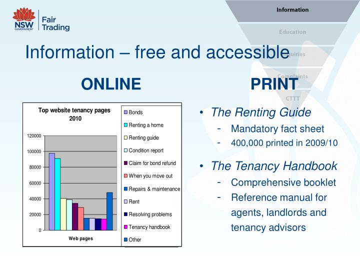 Information free and accessible