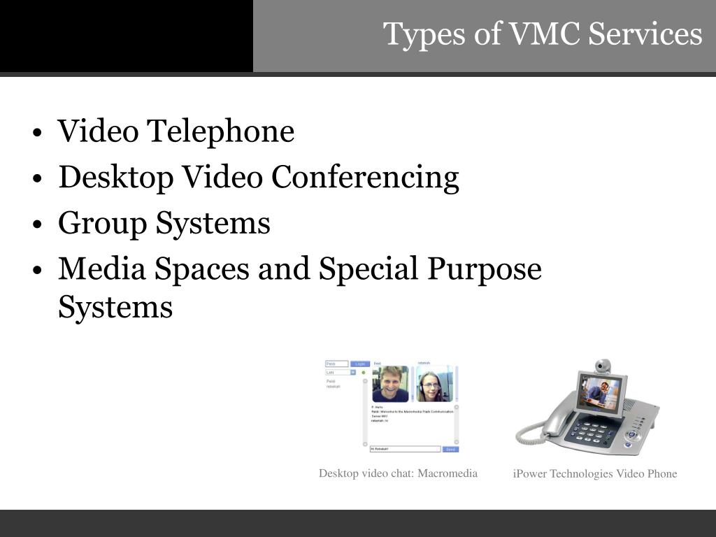 Types of VMC Services