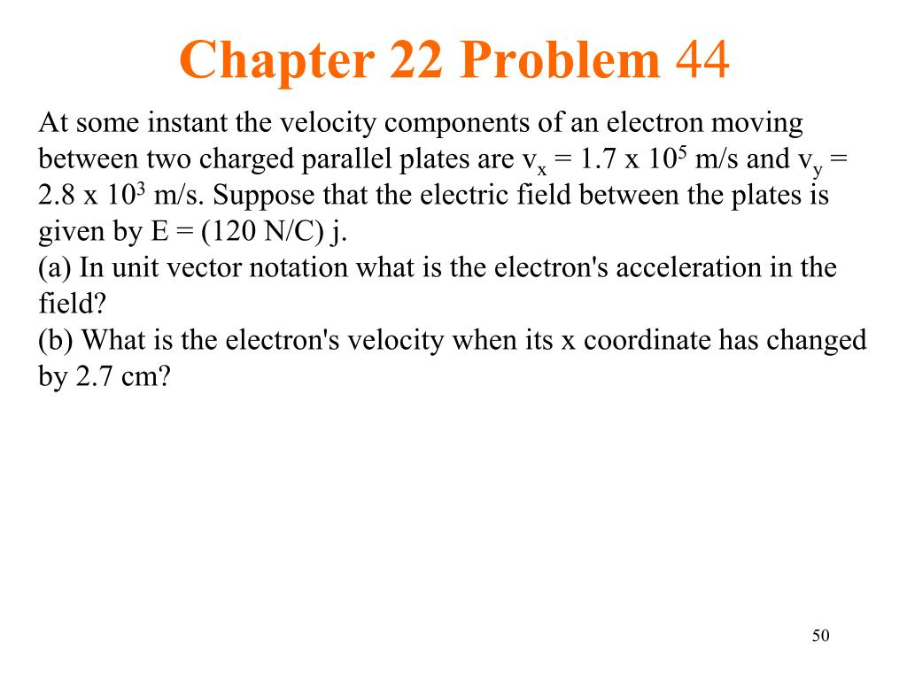 Chapter 22 Problem