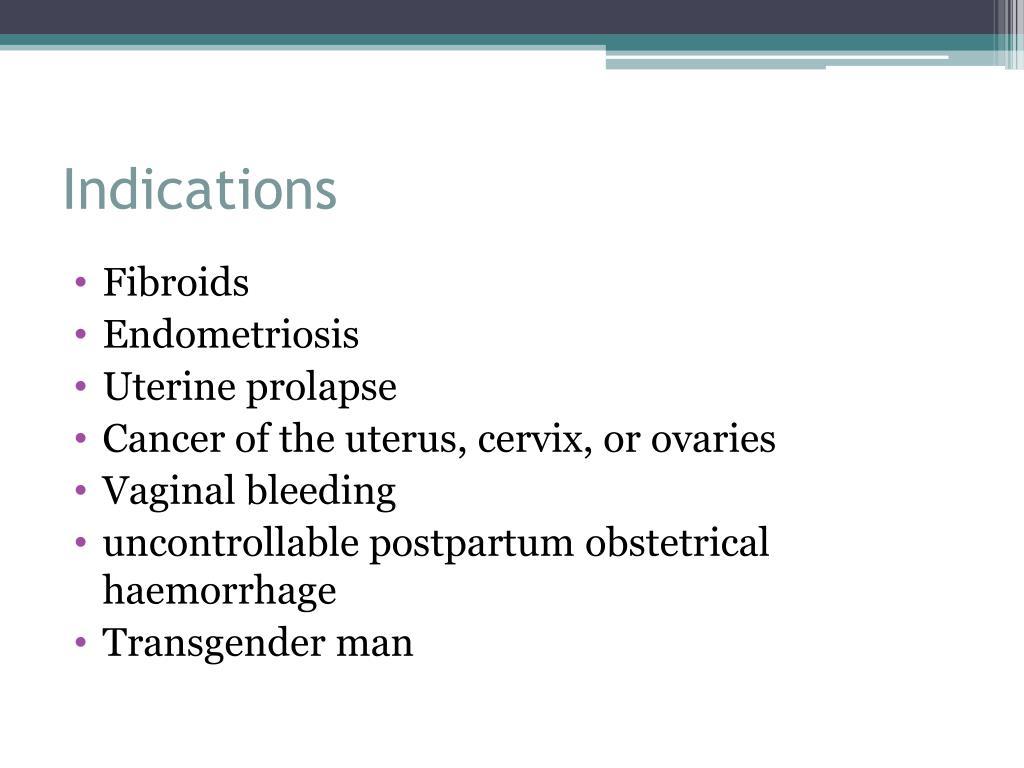 falconer bio prolaps af uterus