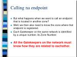 calling na endpoint