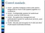 control standards40