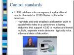 control standards41