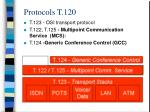 protocols t 120
