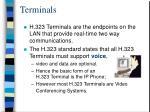 terminals52
