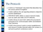 the protocols