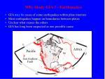 why study gia earthquakes