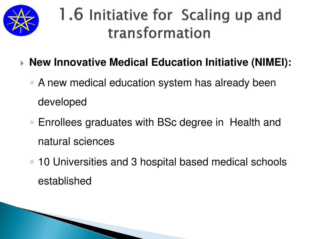 PPT - The New Innovative Medical Education Initiative