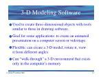3 d modeling software