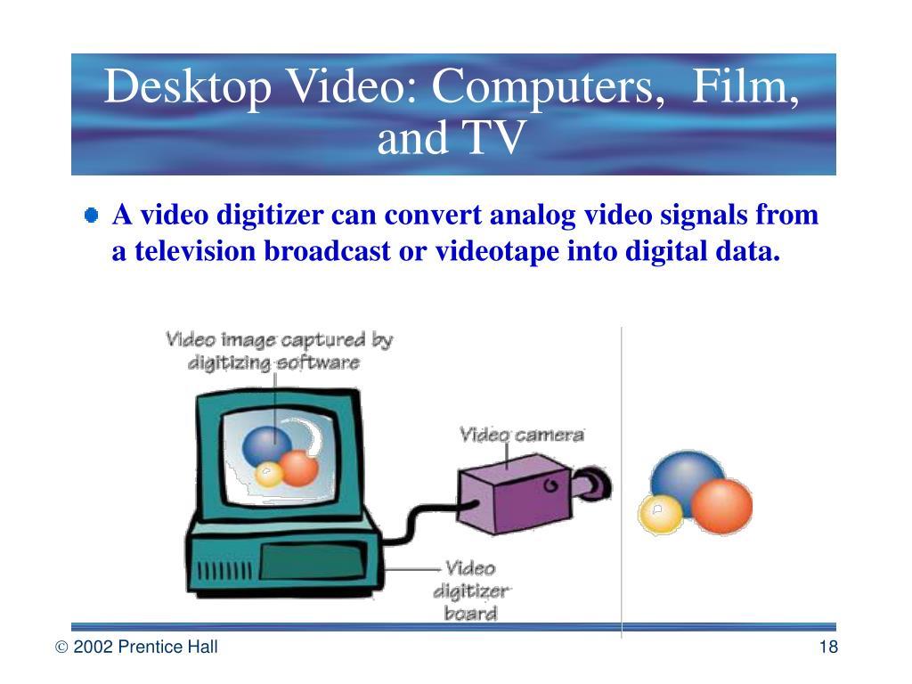 Desktop Video: Computers, Film, and TV