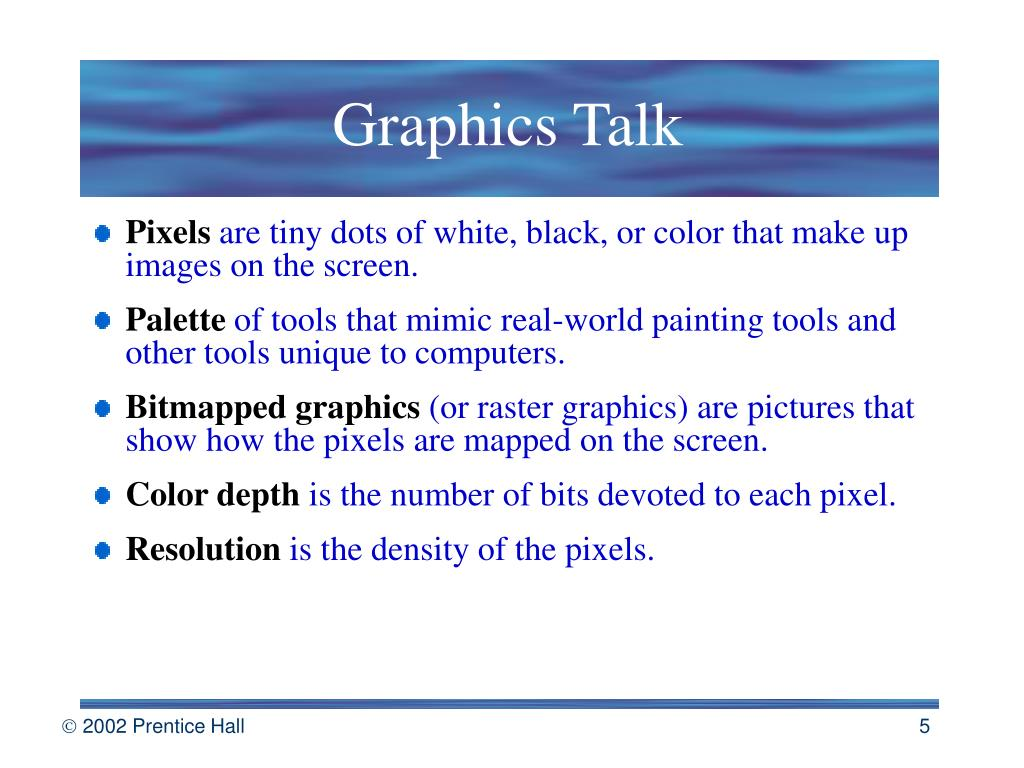 Graphics Talk