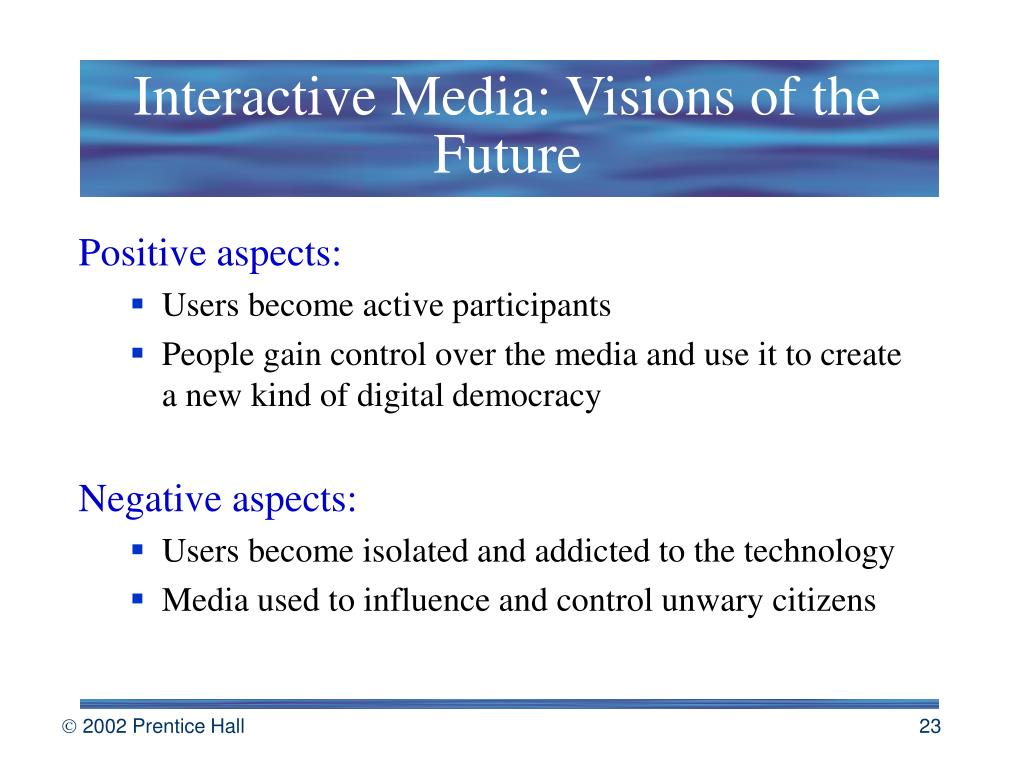 Interactive Media: Visions of the Future