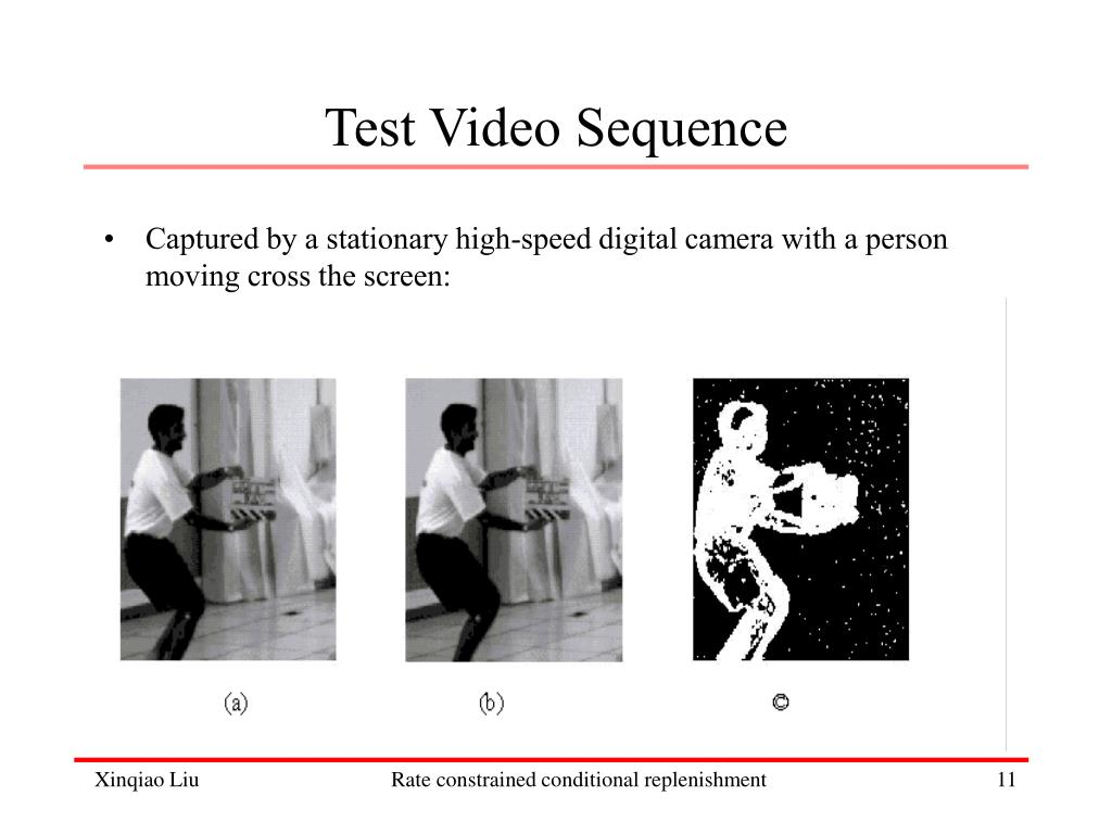 Test Video Sequence