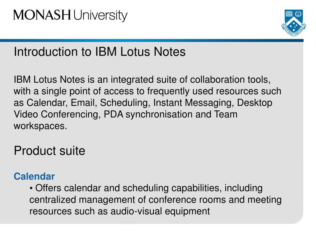Introduction to IBM Lotus Notes