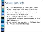 control standards29
