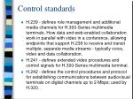 control standards30