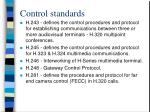 control standards31
