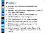 protocols